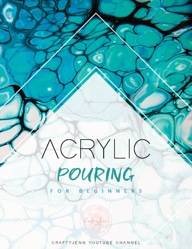 Acrylic Pouring for Beginners Cover Page